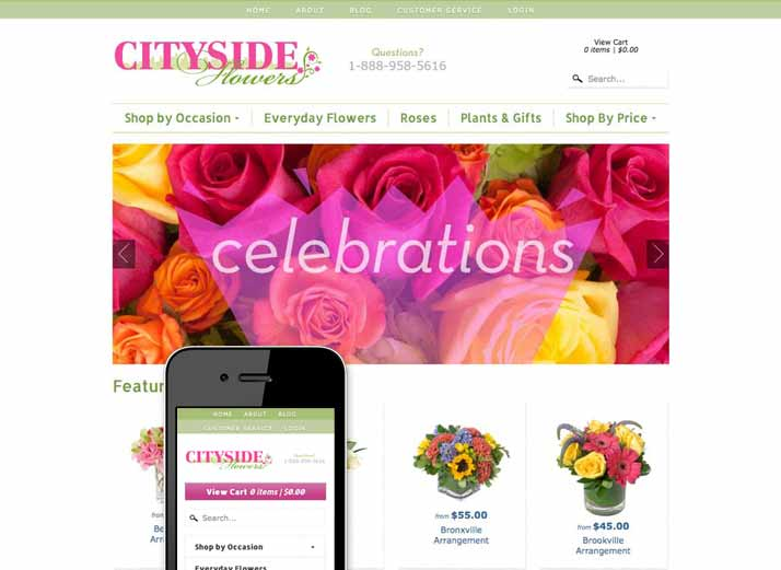 ecommerce-website-florist