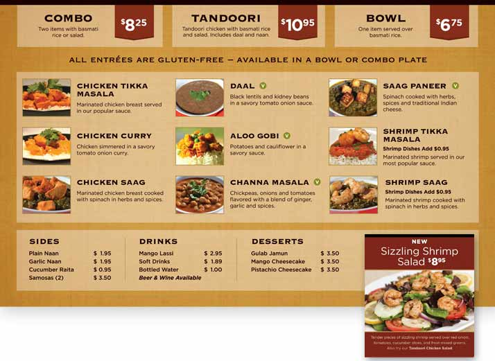 Restaurant Menu Design  Bear Files  Brand Designer Digital